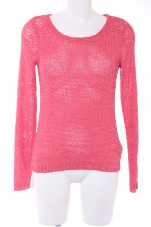 Only Strickpullover magenta Casual-Look