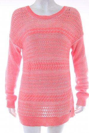 Only Strickpullover Neonorange