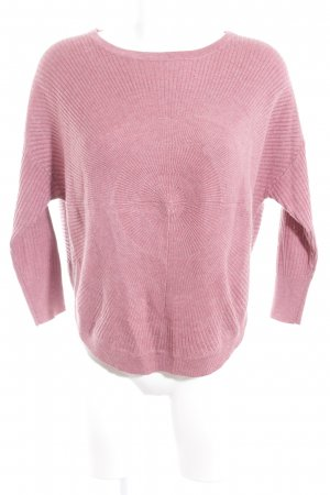 Only Strickpullover rosa Casual-Look