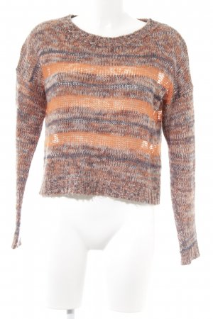 Only Strickpullover Streifenmuster Casual-Look