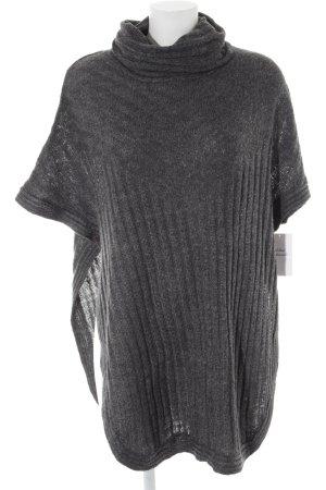 Only Gebreid shirt donkergrijs casual uitstraling