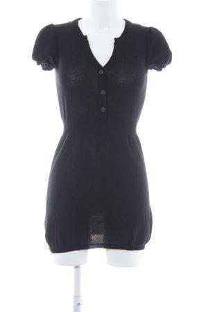 Only Camisa tejida negro modelo de punto flojo estilo sencillo