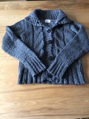 Only Cardigan tricotés gris foncé