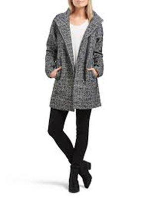 ONLY Stylischer Mantel Wollmantel Damen 40 Grau L NEU mit Etikett KP 79.95