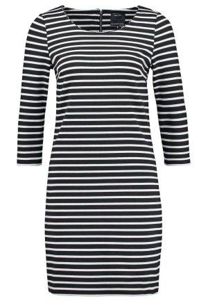 Only * Süßes Jersey Stretch Ringelkleid Sweatshirtkleid * schwarz-weiß * S=36/38