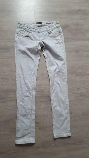 Only Superlow Slim Jeans Röhrenjeans hellblau Größe W29 L34