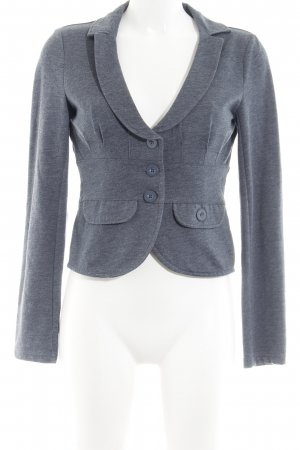 Only Sweatblazer graublau meliert Casual-Look