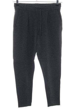 Only Pantalone fitness nero puntinato stile casual
