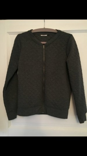 Only Sweatjacke dunkelgrau Gr. M Strickjacke
