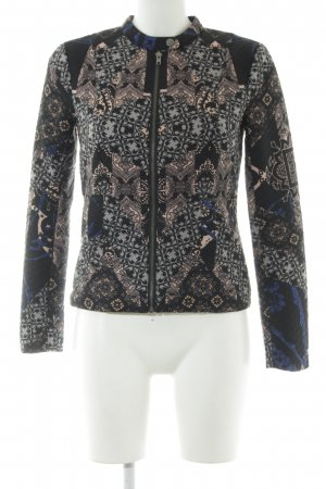Only Sweat Jacket mixed pattern extravagant style