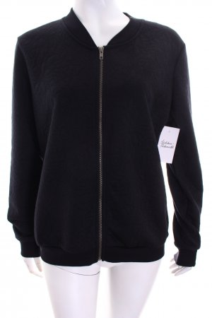 Only Sweatjacke schwarz Casual-Look