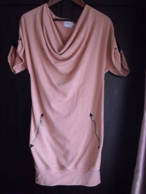 ONLY Sweatkleid apricot/rosa Gr. S