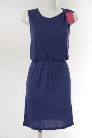 Only Vestido de tela de sudadera azul look casual