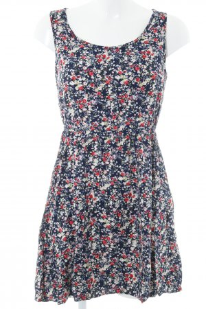 Only Sweatkleid florales Muster Casual-Look
