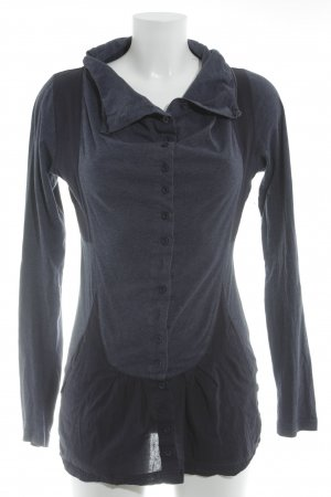 Only Sweatshirt dunkelblau-graublau Casual-Look