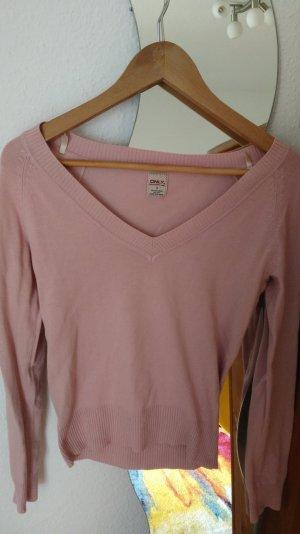 Only Sweatshirt n Altrosa. in Größe M.