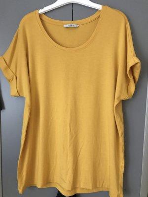 Only T-Shirt Gr M Oversize Gelb