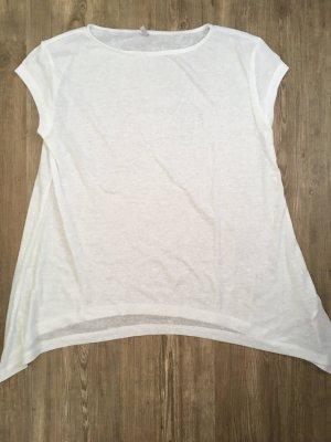 Only T-Shirt Größe S weiß seitlich länger geschnitten