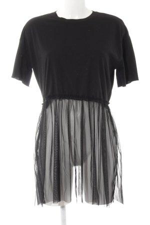 Only T-Shirt schwarz Street-Fashion-Look