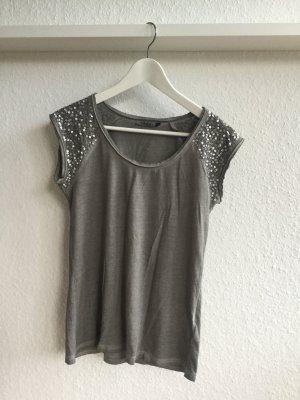 Only T-Shirt XS Gr. 32-34 grau