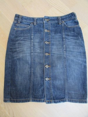 Only today#Blaumax#Jeansrock#Used-Look