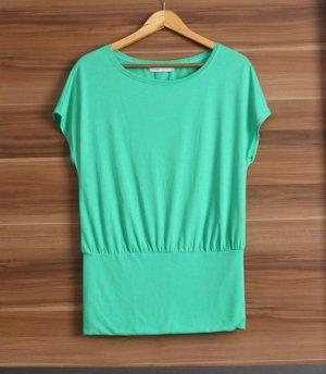 Only Top Tunika Shirt grün Gr. XS 34 S 36 longsleeve longtop Longshirt