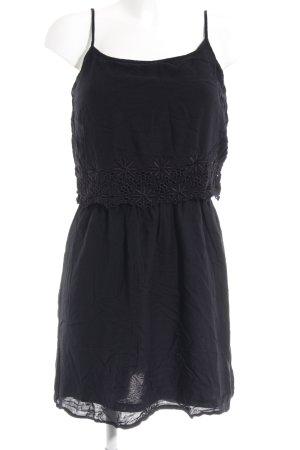 Only Trägerkleid schwarz schlichter Stil