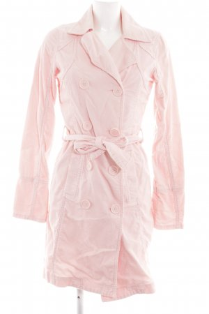 Only Trenchcoat pink Casual-Look