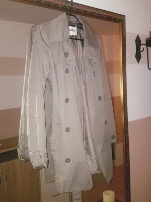 Only Trench marrone-grigio