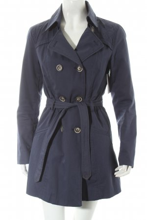 Only Trenchcoat dunkelblau Casual-Look