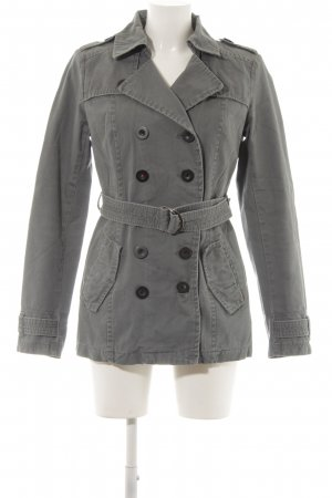 Only Trench grigio stile casual