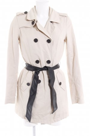Only Trenchcoat hellbeige-dunkelbraun Casual-Look
