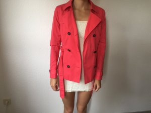 Only Trenchcoat Jacke pink