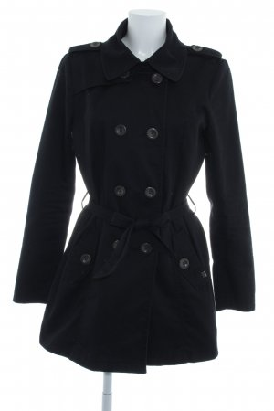 Only Trenchcoat zwart elegant