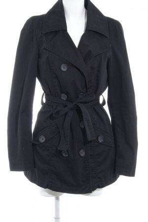 Only Trenchcoat schwarz Elegant