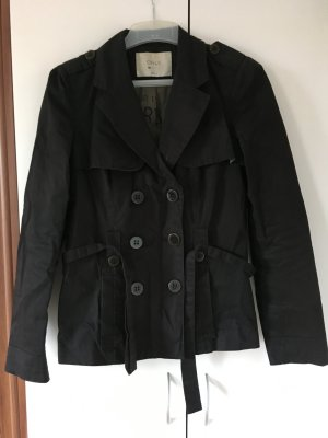 Only Trenchcoat, schwarz, guter Zustand, S