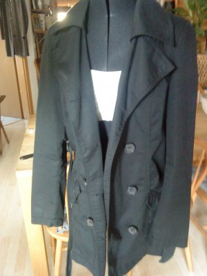 ONLY Trenchcoat schwarz M