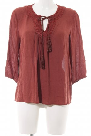 Only Tunic Blouse red casual look