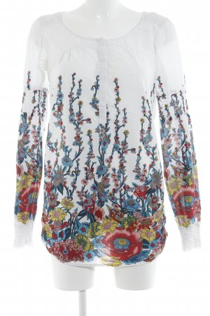 Only Tunikabluse florales Muster Beach-Look