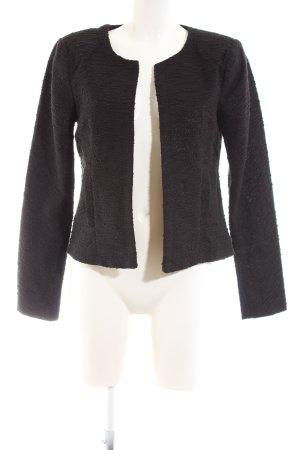 Only Tweed Blazer black business style