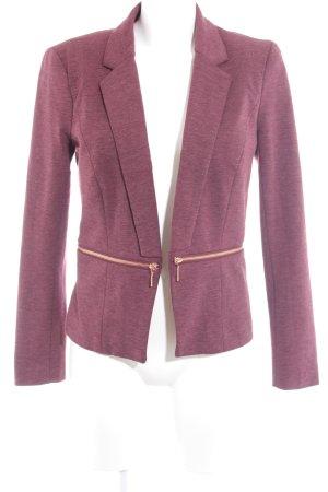 Only Tweedblazer purpur-bronzefarben Business-Look