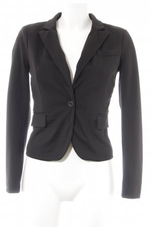 Only Tweedblazer schwarz Business-Look