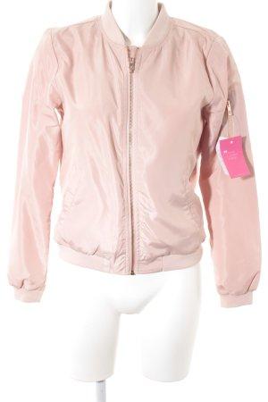 Only Übergangsjacke rosé Casual-Look