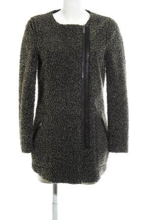 Only Übergangsmantel schwarz-grau meliert Street-Fashion-Look
