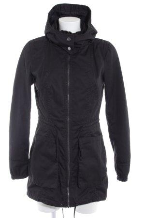 Only Between-Seasons-Coat black simple style