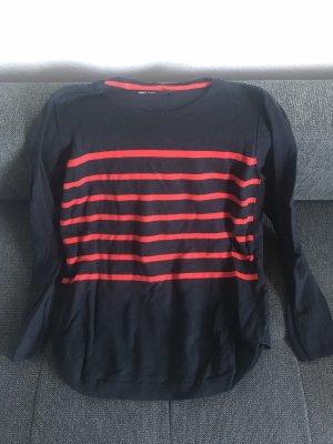Only vero MODA streifen rot blau Pullover Jacke Sweatshirt