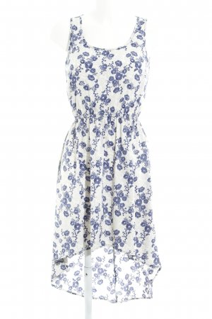Only High Low Dress flower pattern casual look