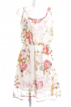 Only High Low Dress flower pattern romantic style