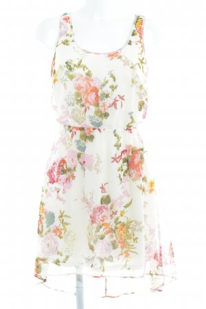 Only Vokuhila-Kleid florales Muster Casual-Look