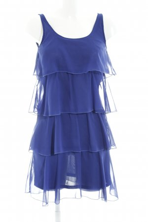 Only Flounce Dress blue layered look